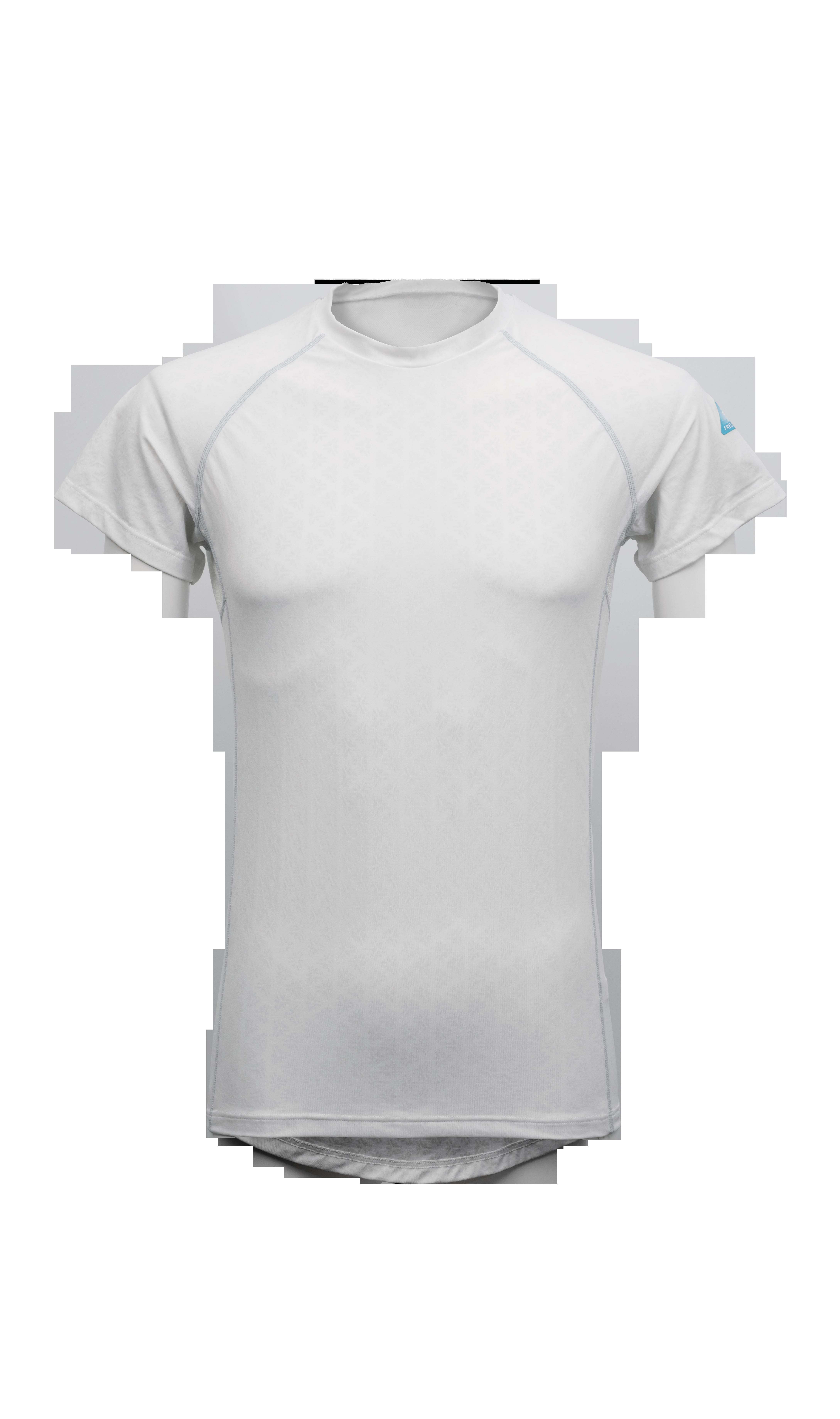 写真:冷却インナーシャツ 半袖クルーネック